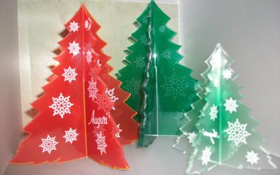 alberi natale plexiglass