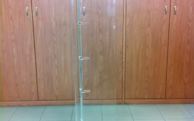 colonna plexiglass