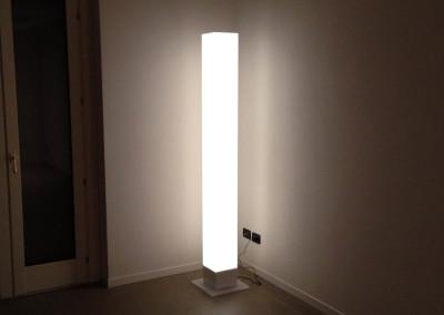 lampada plexiglass