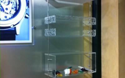 mensole e varie plexiglass