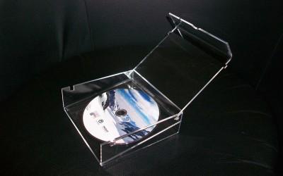 porta cd plexiglass
