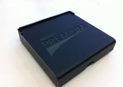 porta tessera black mediaset premium