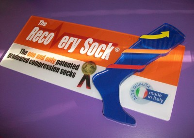 recovery sock plexiglass