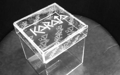scatola plexiglass karaja