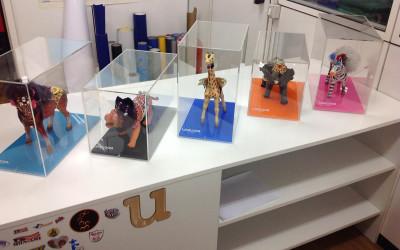 scatole plexiglass collezionismo