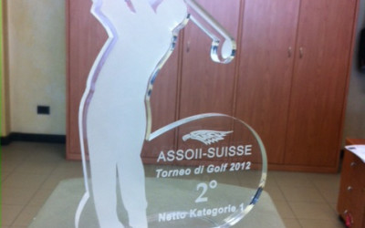 trofeo plexiglass golf